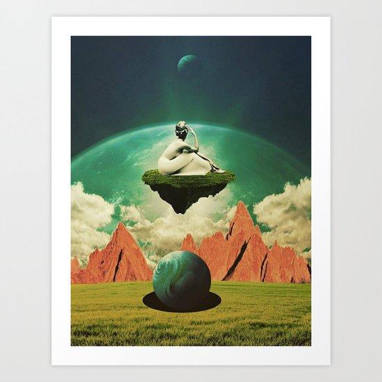 A Woman Needs Her Space Art Print