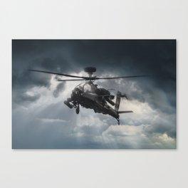 Apache Gunship Canvas Print