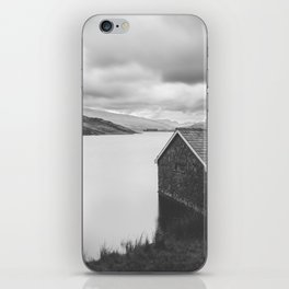 Llyn  Ogwen Boathouse iPhone Skin