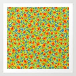 Marigold Medley Art Print