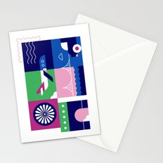 Travel by Plane Stationery Cards