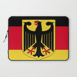 Germany flag emblem Laptop Sleeve