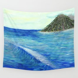 Old Hawaii 2 of 3 Wall Tapestry
