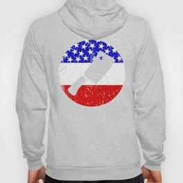 American Flag Butcher Hoody