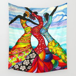 Let's Dance Belize Wall Tapestry