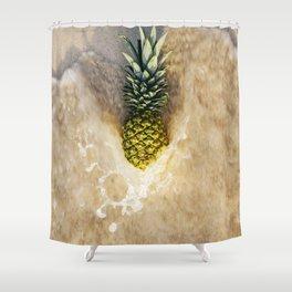 Pineapple Love Shower Curtain