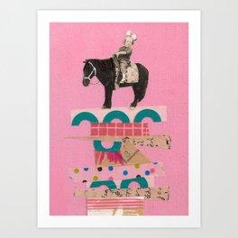 Higher Ground- Ellie Art Print