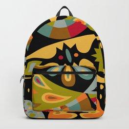 bohemian black Backpack