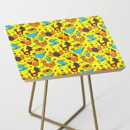 Crazy Birds Side Table