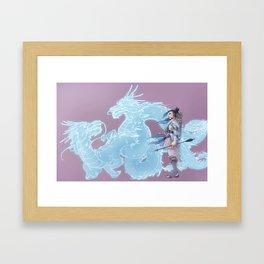 Dragon Boy Framed Art Print