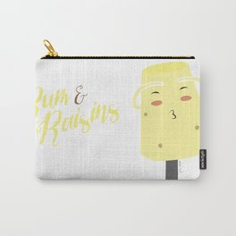 Rum and Raisins Carry-All Pouch