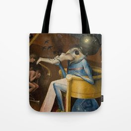 THE GARDEN OF EARTHLY DELIGHTS (detail) - HIERONYMUS BOSCH  Tote Bag