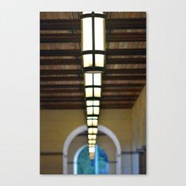 Blanton Museum of Art Loggia Canvas Print