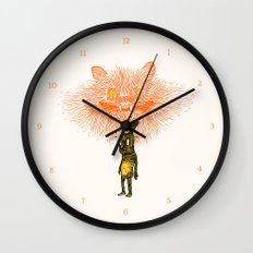 Scared Stiff Wall Clock