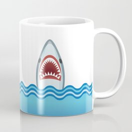 Cartoon Shark Coffee Mug
