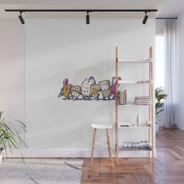 Fellowship Of The Mornings Wall Mural