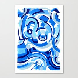Seigaiha Series - Alliance Canvas Print