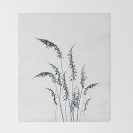 Wild grasses Throw Blanket