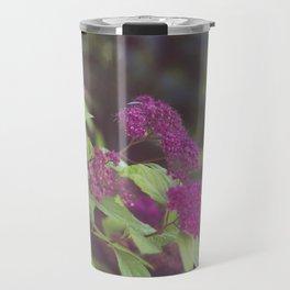 purple flower. Travel Mug