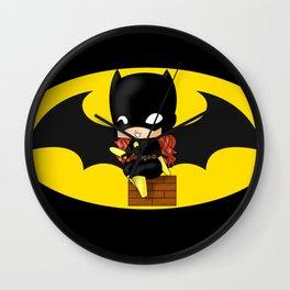 Chibi Batgirl Wall Clock