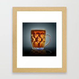 In Search Of The Holy Ale. Framed Art Print