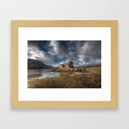 Eilean Donan Castle in Highlands of Scotland Framed Art Print