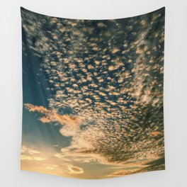 Fire Sky Wall Tapestry