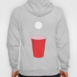 Beer Pong Illustration Hoody