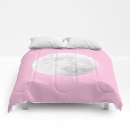 WHITE MOON + PINK SKY Comforters