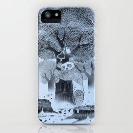 The tree hugger iPhone Case