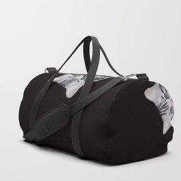 Hi! Sneaky Cat Duffle Bag