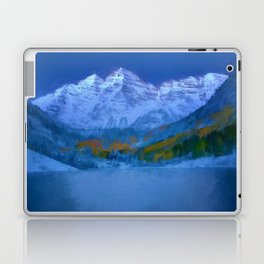 Maroon Bells Early Morning Abstract Laptop & iPad Skin