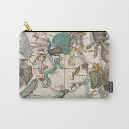 Old Constellation Map Year 1693 Carry-All Pouch