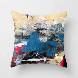 Accidental Abstraction 02 Throw Pillow