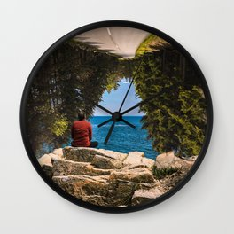 #Tunnel #Vision - 20160520 Wall Clock