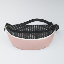 Black Pink Fanny Pack