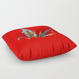Male Pattern Badness Floor Pillow