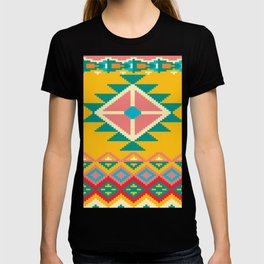 Yellow Native Aztec T-shirt
