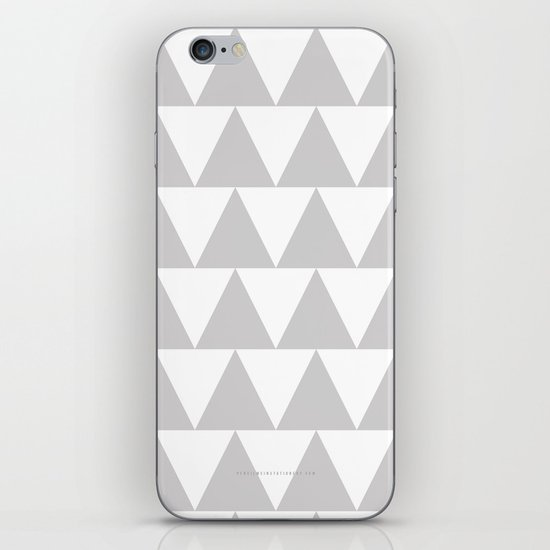 Grey Triangle /// www.pencilmeinstationery.com iPhone & iPod Skin
