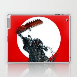 screaming chainsaw Laptop & iPad Skin
