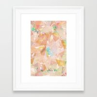 diamonds Framed Art Prints featuring Diamonds by Zeke Tucker