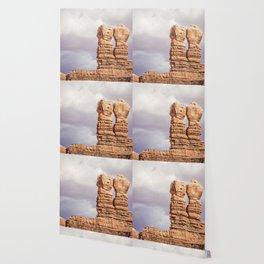 Twin Rocks Utah Wallpaper