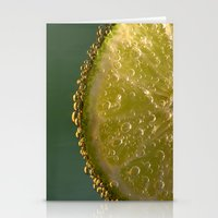 lime green Stationery Cards featuring Lime! by Caroline Benzies Photography