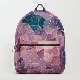 Elegant Abstract Geometric Design Backpack