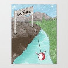 Yo-Yo Jumping! Canvas Print