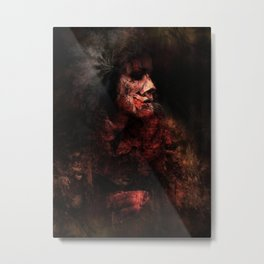 Red Chief Metal Print