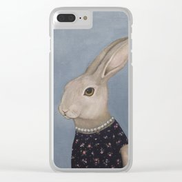Year of the Rabbit Clear iPhone Case
