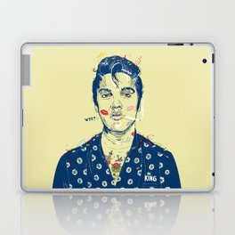 WTF? ELVIS MORNING PARTY Laptop & iPad Skin