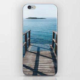 Into the sea iPhone Skin