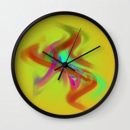 el placa de colore Wall Clock